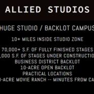 Allied Studios: Huge Studio / Backlot Campus
