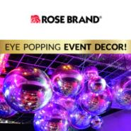 Rose Brand's Dazzling Event Decor!