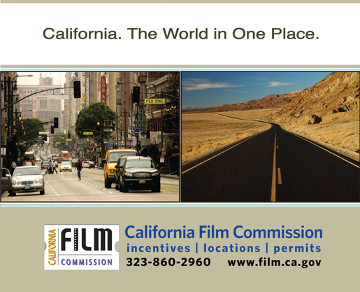 CALIFORNIA<br />FILM COMMISSION
