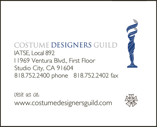 COSTUME DESIGNERS<br />GUILD, Local 892