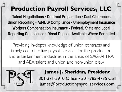 PRODUCTION<br />PAYROLL SERVICES, LLC
