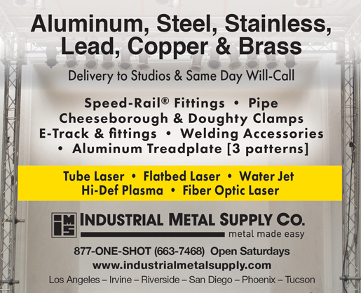 INDUSTRIAL METAL<br />SUPPLY CO.