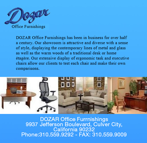 DOZAR OFFICE FURNISHINGS