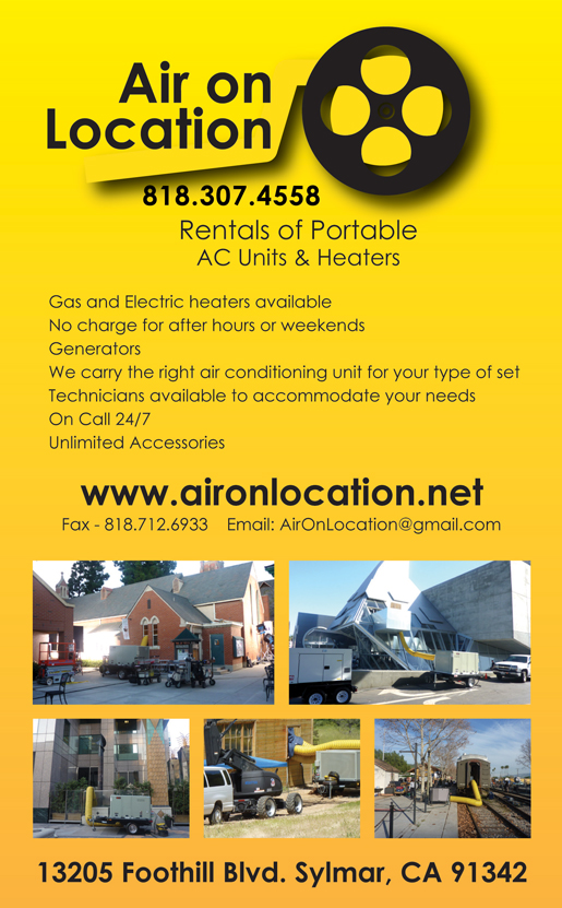 AIR ON LOCATION, INC.