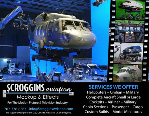SCROGGINS AVIATION<br />MOCKUP &amp; EFFECTS