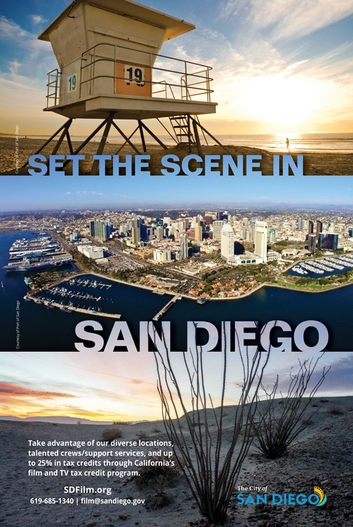 SAN DIEGO<br />PRODUCTIONS, INC.