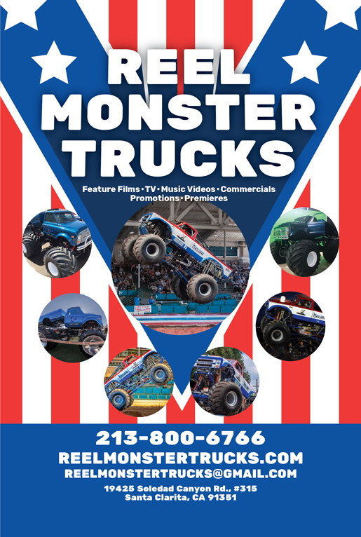 REEL MONSTER TRUCKS