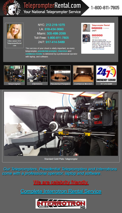 TeleprompterRental.com
