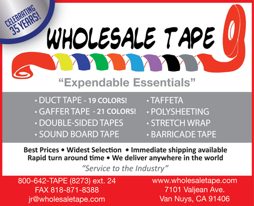 WHOLESALE TAPE & SUPPLY